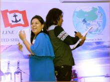 Indias No 1 Mentalist Mind reader Aladin perfomes in Oberoi Hotel Mumbai India