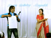 Indias No 1 Mentalist Mind reader Aladin performs in Chennai
